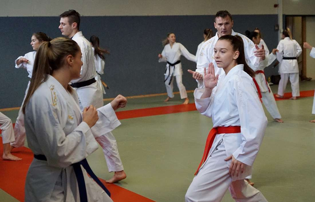 Kumite-Nationalteamtraining in Dornbirn