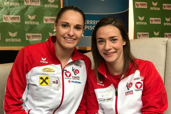 Alisa Buchinger und Bettina Plank