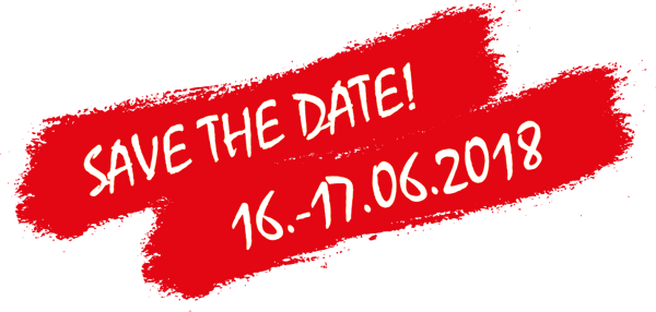 Save The Date: 16. bis 17.06.2018